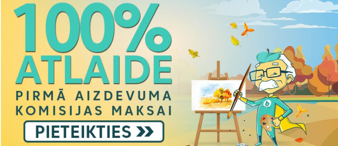 bezprocentu aizdevums Latvijā