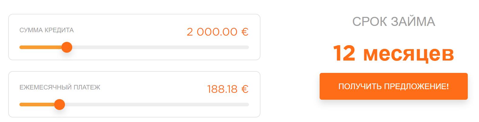 надежный кредит в Латвии